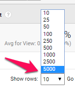 Display-number-of-rows-in-Google-Analytics